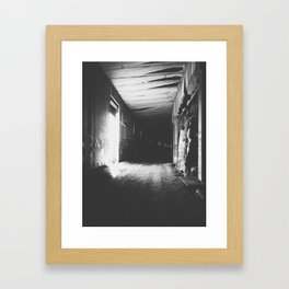Light Division Framed Art Print