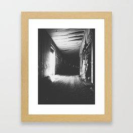 Light Division Framed Art Print