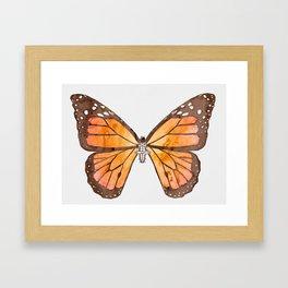 Caterpillar's nirvana Framed Art Print