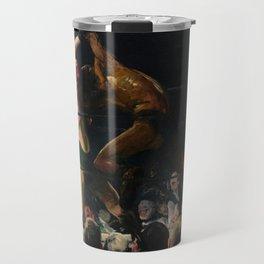 George Bellows - Both Members of This Club Travel Mug