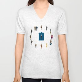 WHAT TIMELORD IS IT? Unisex V-Neck