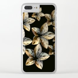 Unnatural Beauty Clear iPhone Case