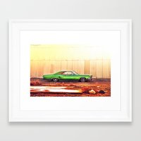 tame impala Framed Art Prints featuring Impala by Hosam Al-Ghamdi