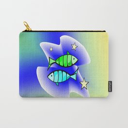 Astrology, fish Carry-All Pouch