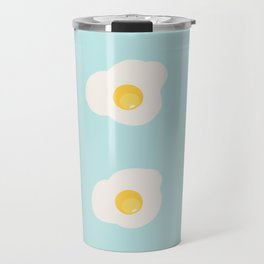 omelette seamless pattern Travel Mug