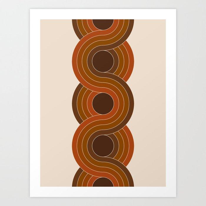 Cocoa Chain Art Print
