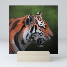 A Leader - Siberian Tiger Art Mini Art Print