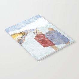 Valentines polar bear Notebook