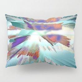 Pow Teal Splash Pillow Sham