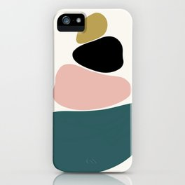 gemstones 1 iPhone Case