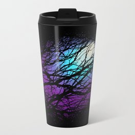 lights in the forest Metal Travel Mug