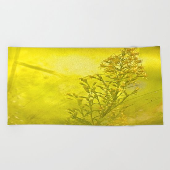 Summer meadow - #society6 #buyart Beach Towel