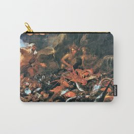 12,000pixel-500dpi - Luca Giordano - The Riches Of The Sea With Neptune, Tritons And Two Nereids Carry-All Pouch