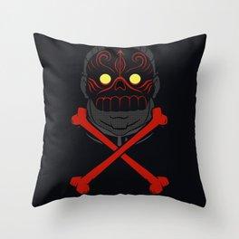 Magic Murder Man Throw Pillow