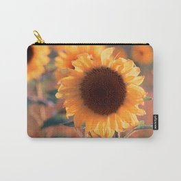 Soon she donates seeds for the birds the sunflower Carry-All Pouch
