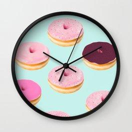 Donut Heaven Wall Clock