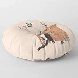 the Pianist Floor Pillow