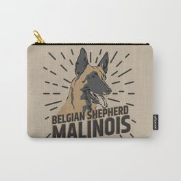 Belgian shepherd - Malinois Carry-All Pouch