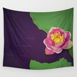 Water lily Wall Tapestry