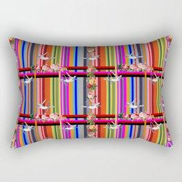 Mad Tartan & Hoop Divers Rectangular Pillow