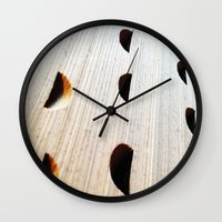bookworm Wall Clocks featuring le bookworm by Lita Mikrut