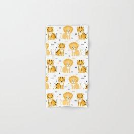 Lion & tiger Hand & Bath Towel