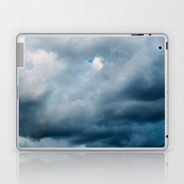 Rain Storm Clouds Gathering On Sky, Stormy Sky, Infinity Laptop & iPad Skin