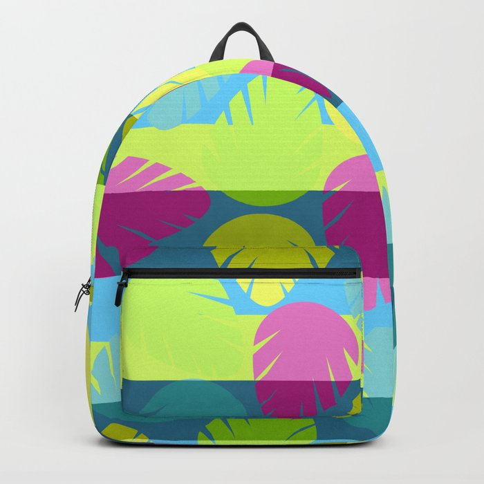 Tropical stripes II Backpack