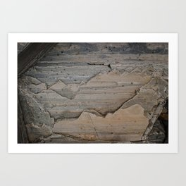 Layers and layers Art Print