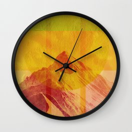 Geometric Composition 6 Wall Clock