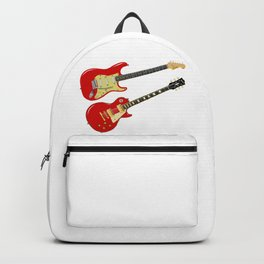 Red Elecric Guitars Backpack