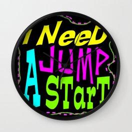 Jump Start Wall Clock