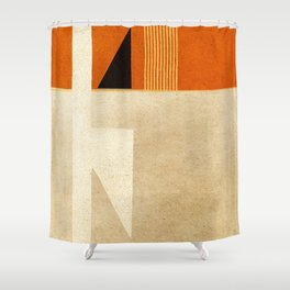 Solitaire du Figaro (ocre) Shower Curtain