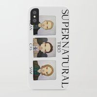 supernatural iPhone & iPod Cases featuring SUPERNATURAL by Space Bat designs