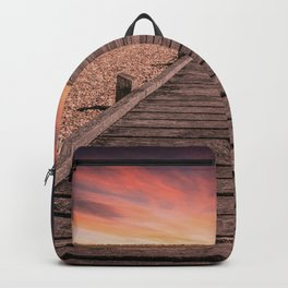 Sunset at Dungeness Backpack