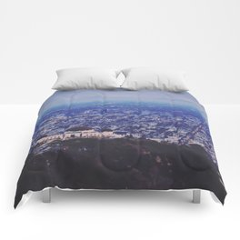 Griffith Observatory Comforters