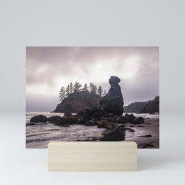 Moody view of Grandma Rock Mini Art Print