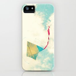 Our Heart is Like a Kite iPhone Case