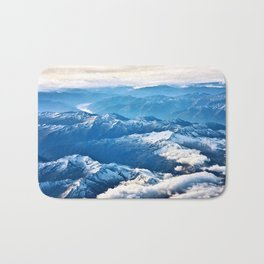 Above the Mountains I Bath Mat