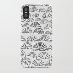 half circle pattern Slim Case iPhone X