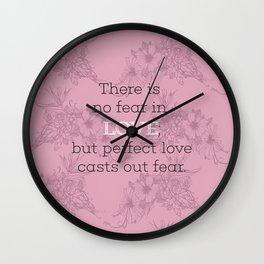 No Fear 01 Wall Clock
