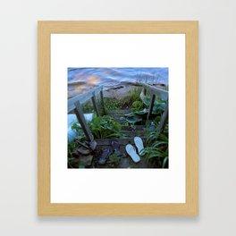 Stairway to Summer Framed Art Print