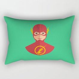 flat for flash Rectangular Pillow