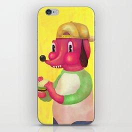 my kind of burger iPhone Skin