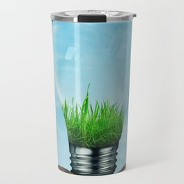 Save Green Concept Travel Mug