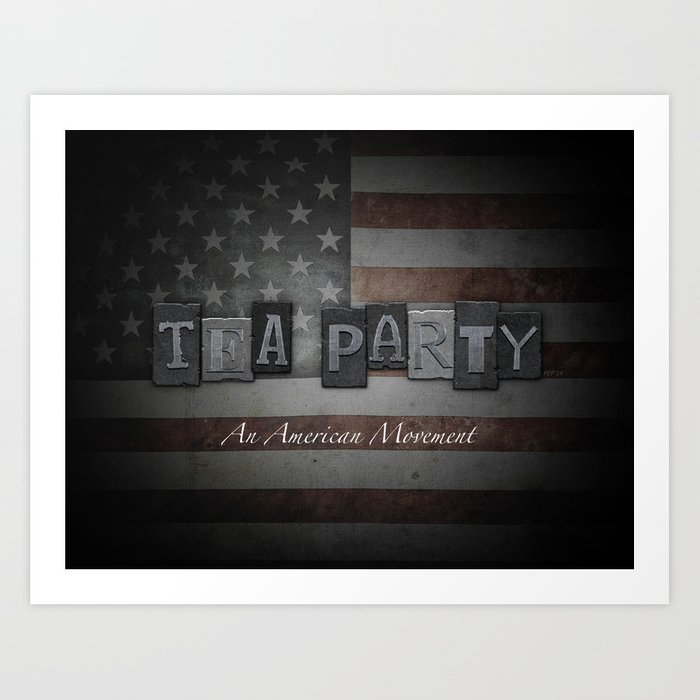 An American Movement Art Print