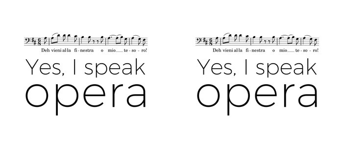 I speak opera (baritone) Coffee Mug