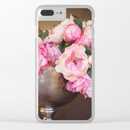 Enduring Romance Clear iPhone Case