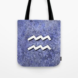 Zodiac sign : Aquarius Tote Bag