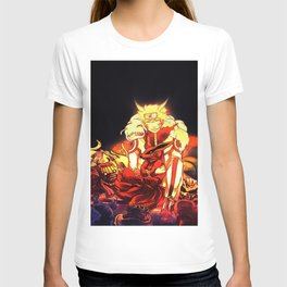 naruto and bijuu T-shirt